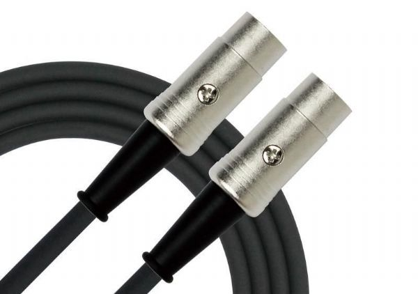 Kirlin Pro Deluxe 5 Pin Midi Cable 10Foot - 10ft - MD501-10FT